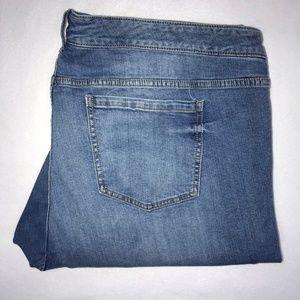 Torrid Stretch Straight Leg Jeans 26 27